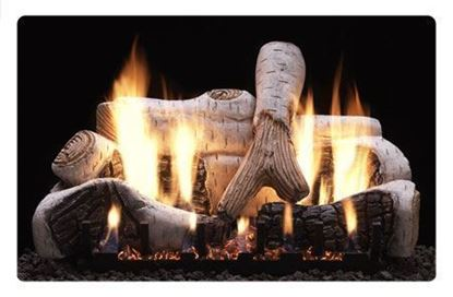 Empire birch vent free gas logs