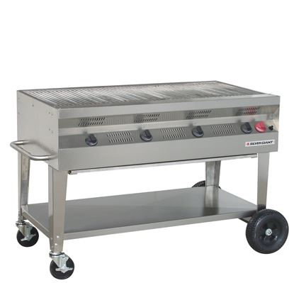 Picture of Silver Giant Commercial Stainless Steel Grill, SGC-48