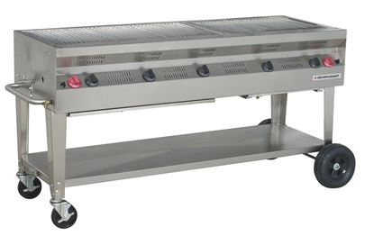 Picture of Silver Giant Commercial Stainless Steel Grill, SGC-60