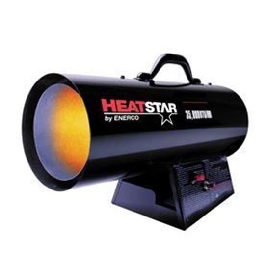 Picture of HeatStar Forced Air Propane Heater, 35,000 BTU, HS35FA, F170035