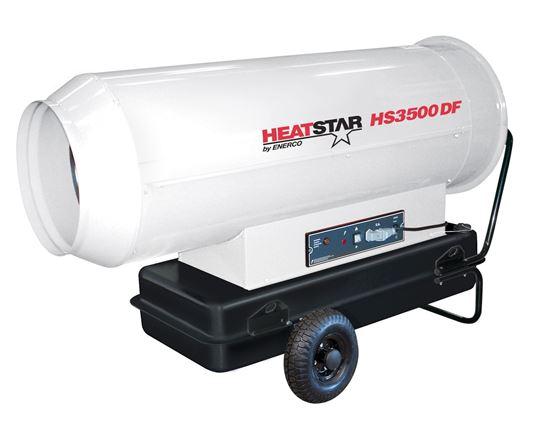 Heatstar High Pressure Forced Air Direct Fired Diesel