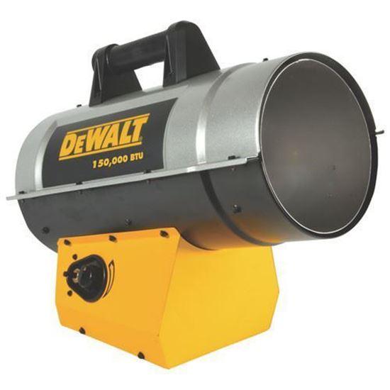 Picture of Dewalt Portable Forced Air Propane Heater, DXH150FAV