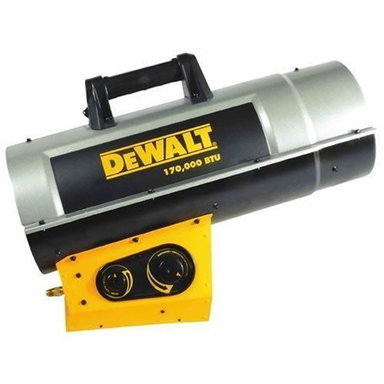 Picture of Dewalt Portable Forced Air Propane Heater, DXH210FAVT