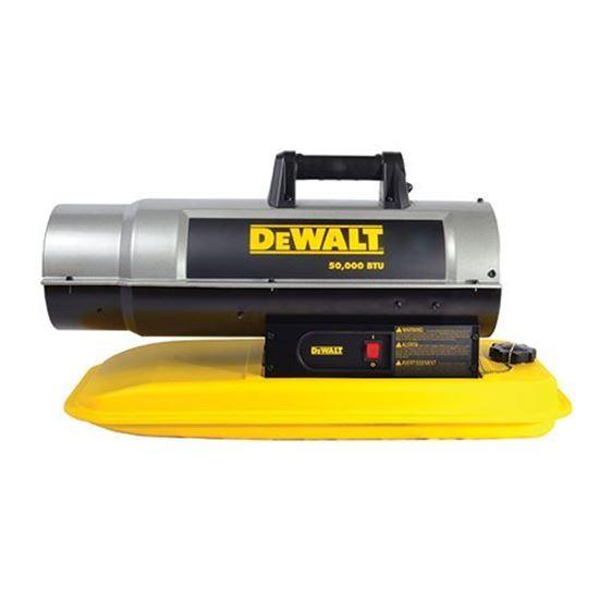 Picture of Dewalt Portable Forced Air Kerosene Heater, DXH50K