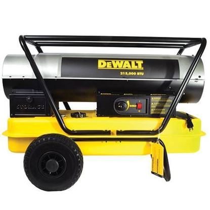 Picture of Dewalt Portable Forced Air Kerosene Heater, DXH215HD