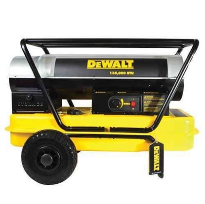 Picture of Dewalt Portable Forced Air Kerosene Heater, DXH135HD