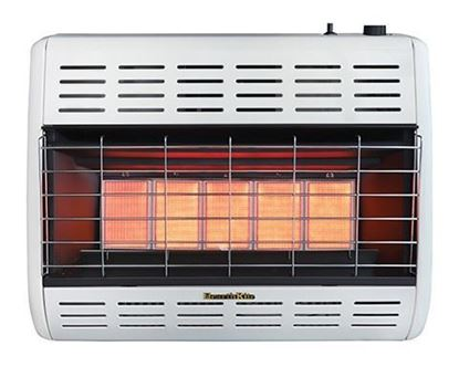 HearthRite infrared radiant vent free heater, HRW25M, HRW25T