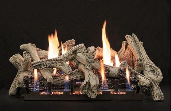 Empire driftwood vent free gas log set